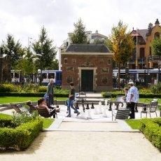 Rijksmuseum's garden