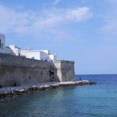 The walls of Monopoli