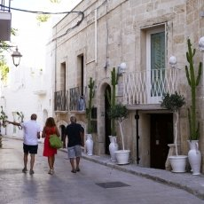 The streets of Monopoli 05