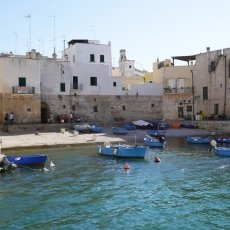 The old port of Monopoli 01