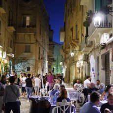 The streets of Monopoli 11