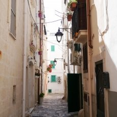 The streets of Monopoli 15