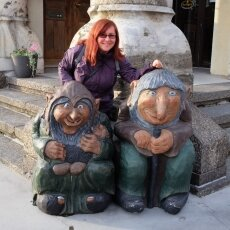 Picture with the trolls