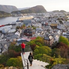 Ålesund from above
