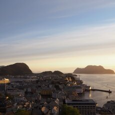 Sunset from the Fjellstua Viewpoint 02