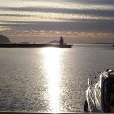 The golden hour in Ålesund