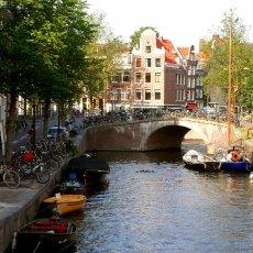 Sunny canal
