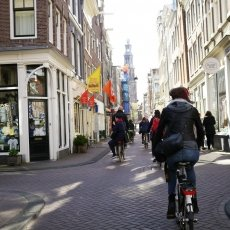 In the Jordaan neighbourhood