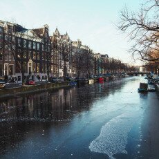Amsterdam in blue and gold 04