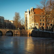 Amsterdam in blue and gold 11