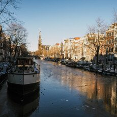 Amsterdam in blue and gold 17