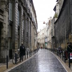 Rainy afternoon in Bordeaux
