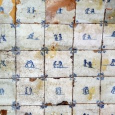 Detail - old dutch tiles
