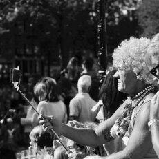 Selfie - Amsterdam, Gay Pride