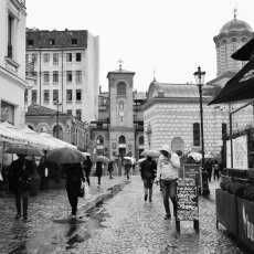 Rainy Day - Bucharest, Romania