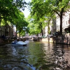 Small, romantic canal