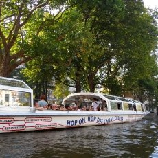 Hop on hop off canal cruise
