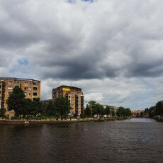 Cloudy day in Amsterdam West 02