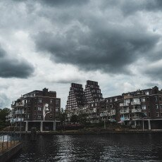 Cloudy day in Amsterdam West 09