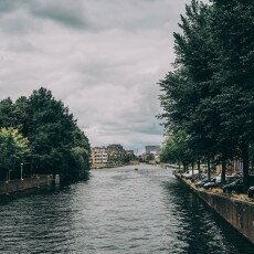 Cloudy day in Amsterdam West 24