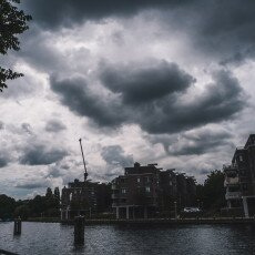 Cloudy day in Amsterdam West 22