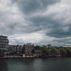Cloudy day in Amsterdam West 01