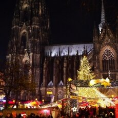 Cologne Christmas Market - night