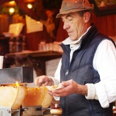 The man selling the best raclette ever