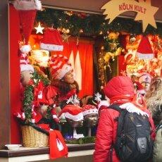 Cologne Christmas Market - Christmas hats