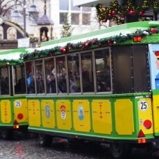 Cologne Christmas Market - little train