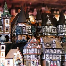 Cologne Christmas Market - miniature houses