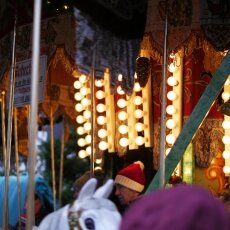 Cologne Christmas Market - carousel