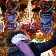 Cologne Christmas Market - gingerbread hearts