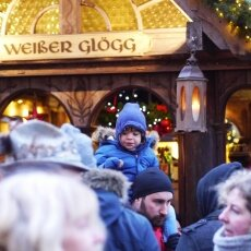 Cologne Christmas Market - little blue boy