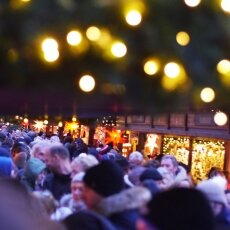 Cologne Christmas Market - crowds