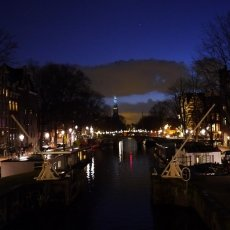 Christmas night in Amsterdam 02
