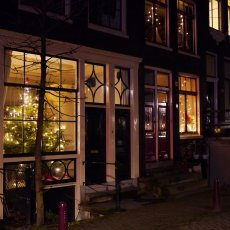 Christmas night in Amsterdam 01