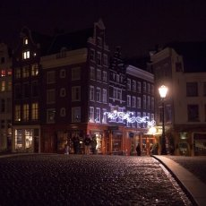 Christmas night in Amsterdam 08