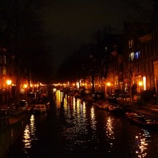 Christmas night in Amsterdam 05