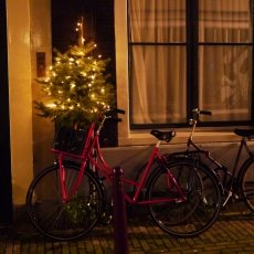 Christmas night in Amsterdam 03