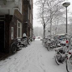 Snowed street