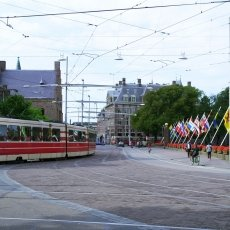 The charming trams of The Hague