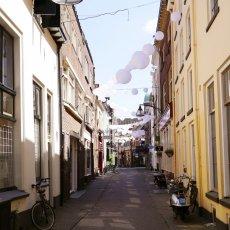 Pretty street in Deventer
