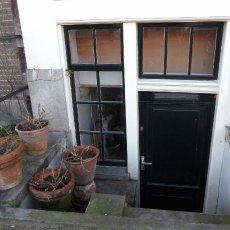 Sad underground door