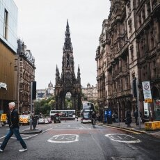 Weekend in Edinburgh - the Scott Monument