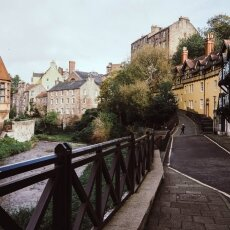 Weekend in Edinburgh - Dean village