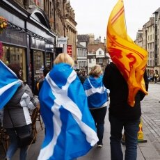 Edinburgh independence march 02