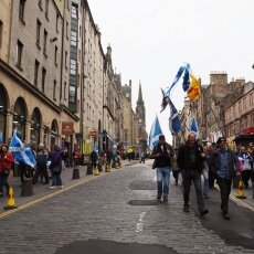 Edinburgh independence march 20