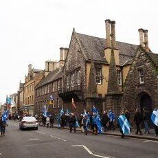 Edinburgh independence march 03