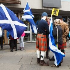 Edinburgh independence march 21